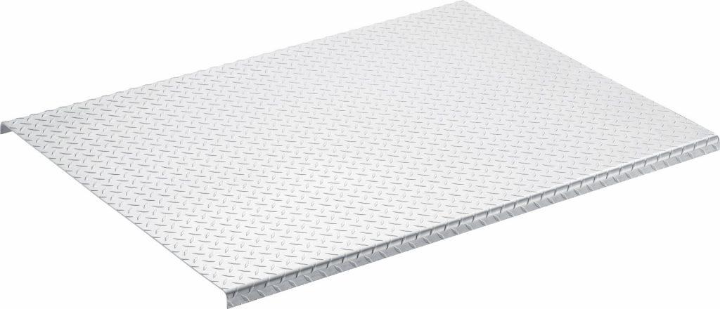 Material: Diamond Plate Aluminum