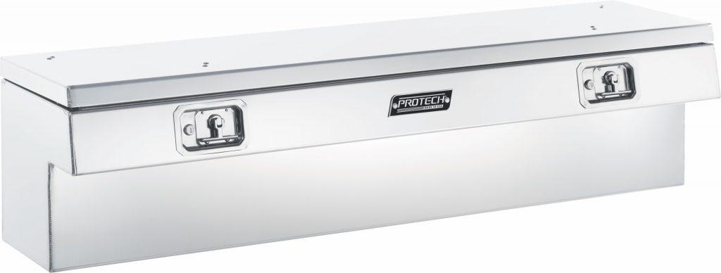 Type: Top Open, Door Material: Polished Aluminum